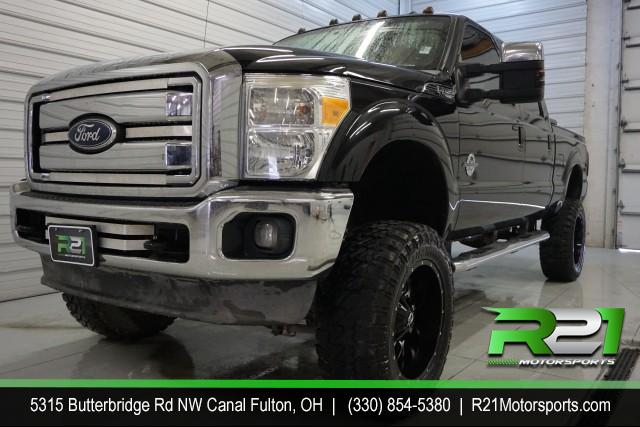 2012 Ford F-250 SD Lariat Crew Cab 4WD for sale at R21 Motorsports