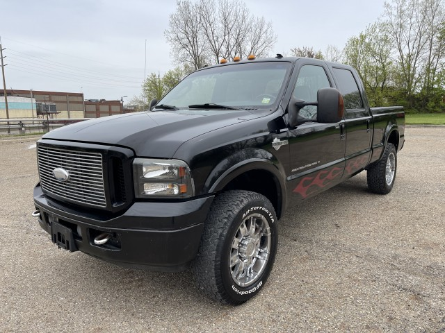 2005 Ford F-250 SD Harley Davidson Crew Cab 4WD 6.0L TURBO DIESEL for sale at Summit Auto Sales