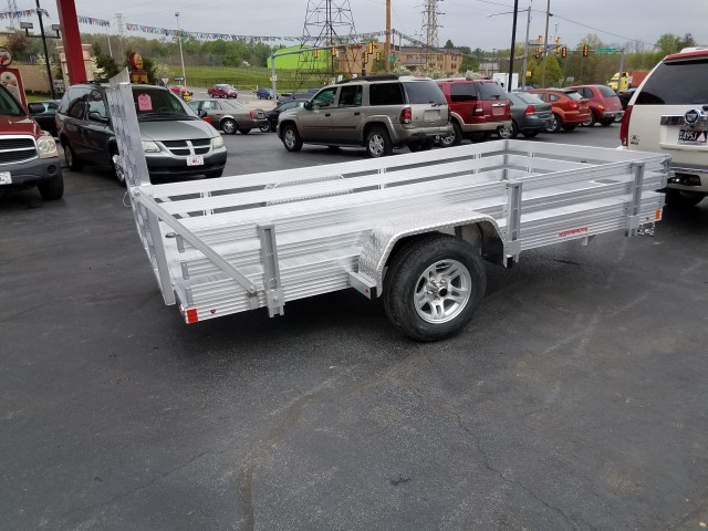 2017 WORTHINGTON 6 X 12 ALL ALUMINUM for sale at Mull's Auto Sales