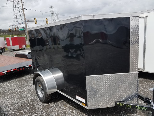 2018 ANVIL 5 X 8 ENCLOSED  for sale at Mull's Auto Sales