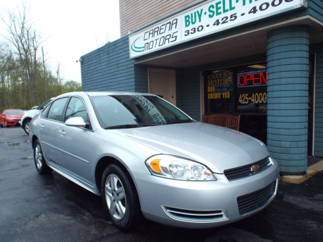 2011 CHEVROLET IMPALA LS for sale in Twinsburg, Ohio