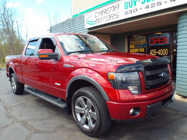 2013 FORD F150 SUPERCREW FX4 for sale | Used Cars Twinsburg | Carena Motors