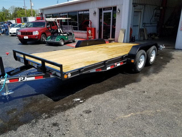 2018 PJ CAR TRAILER STEEL for sale at Mull's Auto Sales
