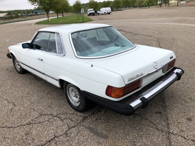 1981 Mercedes-Benz 380 SLC for sale at Summit Auto Sales