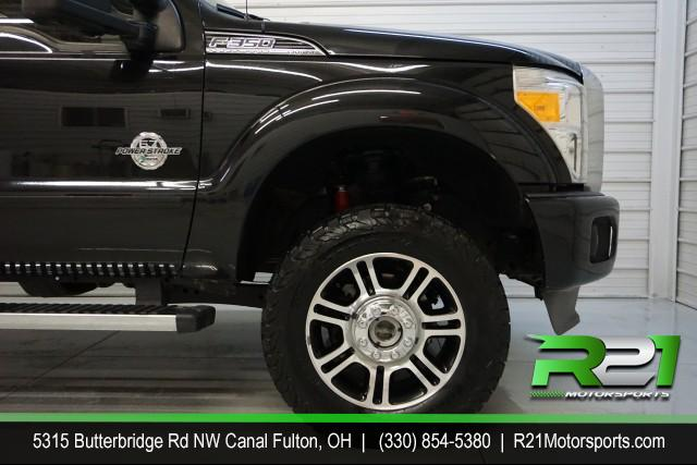 2013 FORD F-350 SD PLATINUM--INTERNET SALE PRICE ABSOLUTELY ENDS SATURDAY DECEMBER 7TH!! for sale at R21 Motorsports