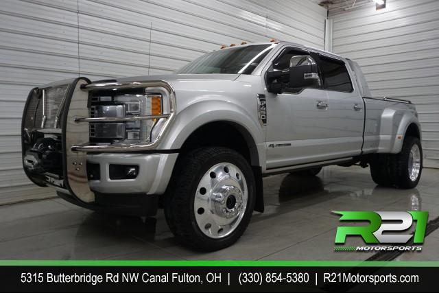 2018 Ford F-450 SD Platinum Crew Cab DRW 4WD for sale at R21 Motorsports