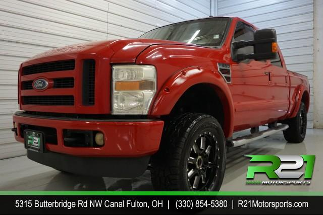 2006 FORD F-350 SD LARIAT CREW CAB LONG BED 4WD for sale at R21 Motorsports