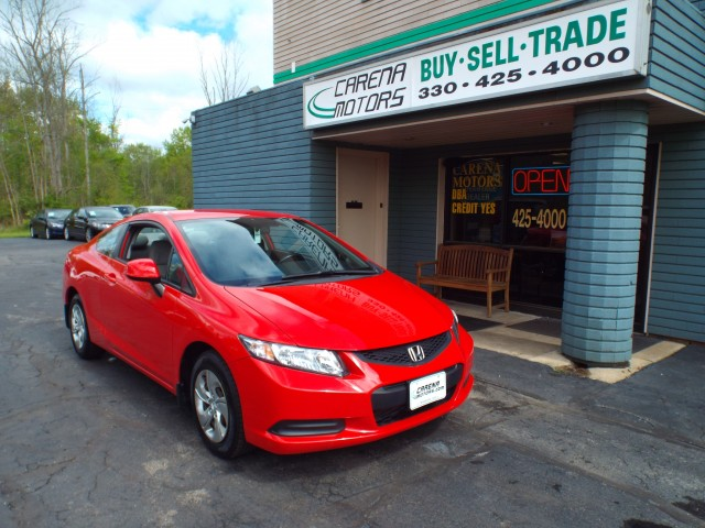 2013 HONDA CIVIC LX for sale in Twinsburg, Ohio