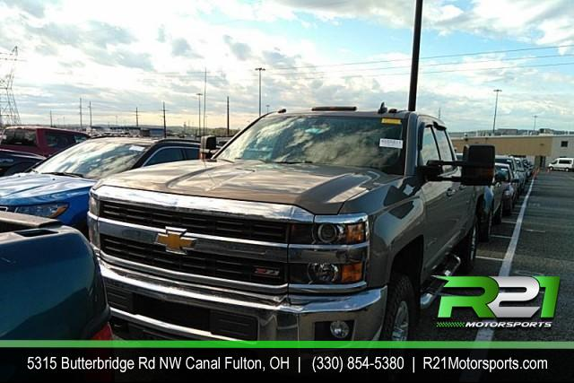 2015 CHEVROLET SILVERADO 3500HD SOUTHERN RUST FREE LT CREW CAB LONG BED 4WD 6.6L DURAMAX DIESEL for sale at R21 Motorsports