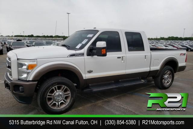 2015 FORD F-250 SD LARIAT CREW CAB ROOF NAVIGATION 4WD FX4 6.7L POWERSTROKE DIESEL for sale at R21 Motorsports
