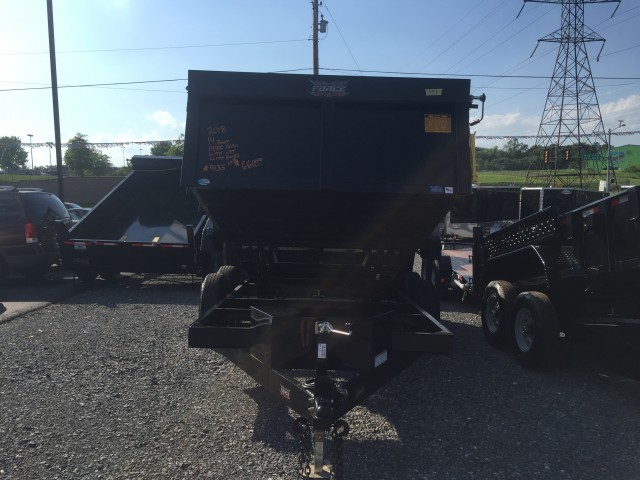 2018 FORCE 14 FOOT DUMP  for sale at Mull's Auto Sales