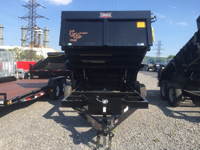 2018 FORCE 12 FOOT DUMP  for sale at Mull's Auto Sales