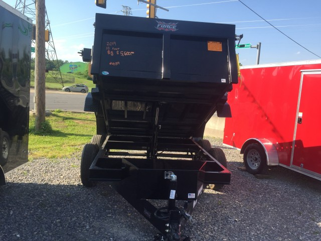 2019 FORCE 10 FOOT DUMP  for sale at Mull's Auto Sales