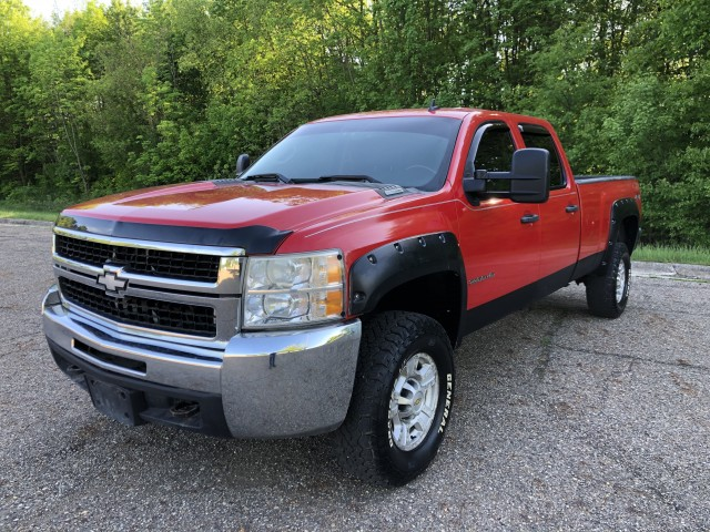 2008 Chevrolet Silverado 2500HD LT1 Crew Cab  4WD 6.6L TURBO DIESEL  for sale at Summit Auto Sales