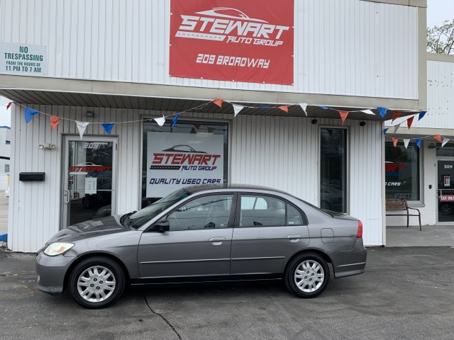 2005 HONDA CIVIC LX for sale at Stewart Auto Group