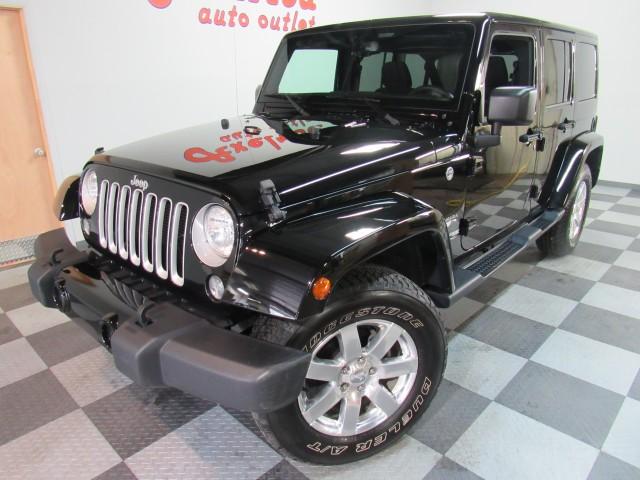 2018 Jeep Wrangler JK Unlimited Sahara 4WD