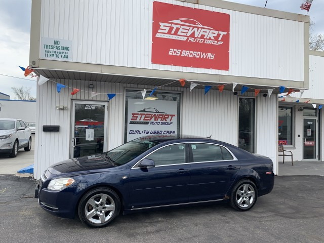 2008 CHEVROLET MALIBU 1LT for sale at Stewart Auto Group