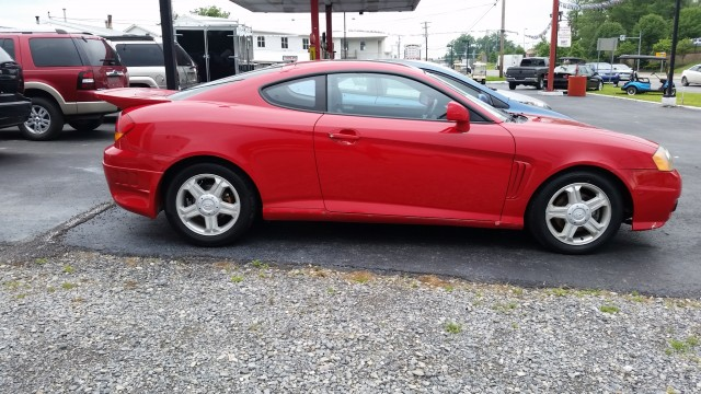2003 Hyundai Tiburon GT V6 for sale at Mull's Auto Sales
