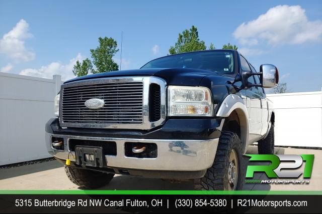 2006 FORD F-250 SD XLT SUPER CAB LONG BED 4WD 6.0L POWERSTROKE DIESEL for sale at R21 Motorsports