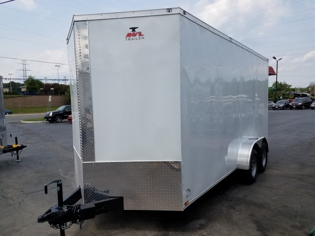 2018 ANVIL 7 X 16 ENCLOSED  for sale at Mull's Auto Sales