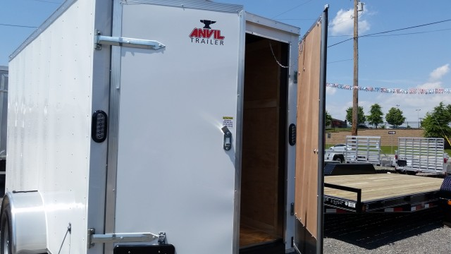 2017 ANVIL 6 X 12 ENCLOSED TRAILER for sale at Mull's Auto Sales