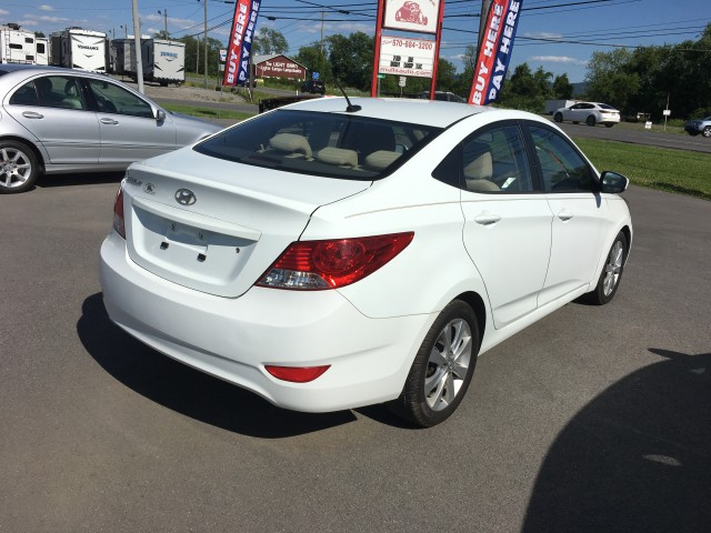 2012 Hyundai Accent GLS 4-Door for sale at Mull's Auto Sales