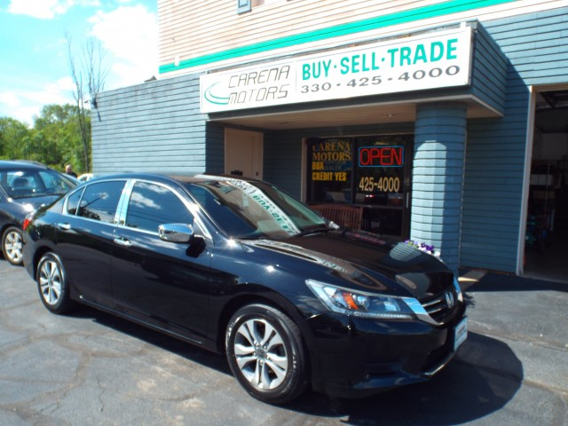 2014 HONDA ACCORD LX for sale in Twinsburg, Ohio