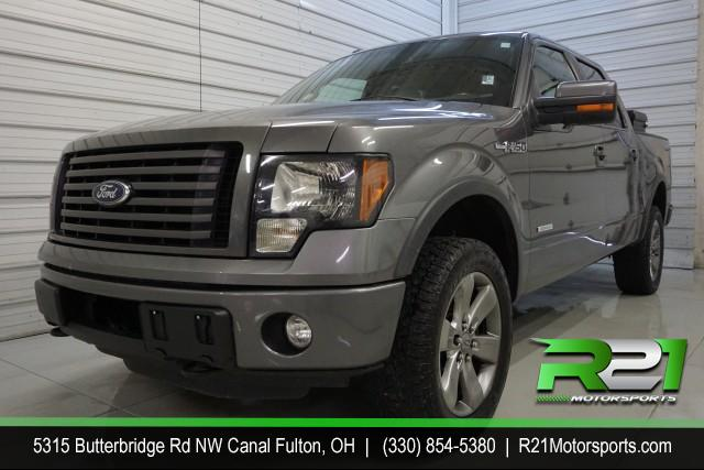 2010 FORD F-150 LARIAT SUPER CREW 5.5-FT BED 4WD for sale at R21 Motorsports