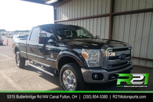 2015 FORD F-350 SD LARIAT CREW CAB 4WD 6.7L POWERSTROKE DIESEL - SOUTHERN-RUST FREE TRUCK for sale at R21 Motorsports