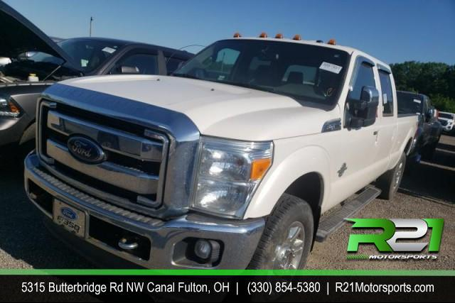 2016 FORD F-350 SD LARIAT CREW CAB LONG BED 4WD 6.7L POWERSTROKE DIESEL for sale at R21 Motorsports