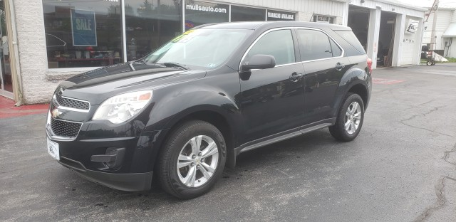 2014 Chevrolet Equinox LS AWD for sale at Mull's Auto Sales