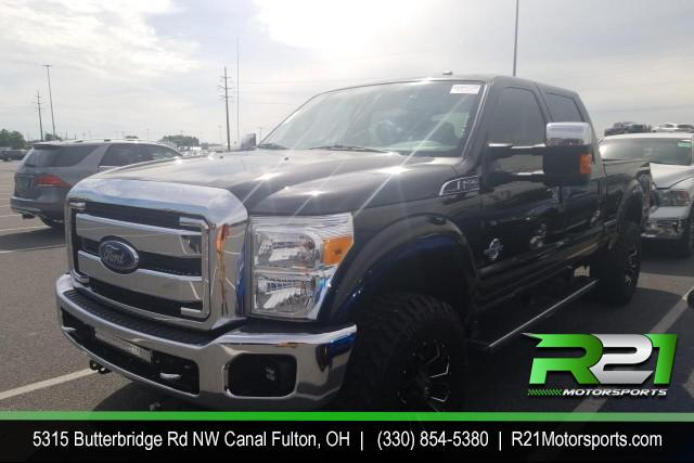 2016 FORD F-250 SD LARIAT CREW CAB 4WD 6.7L POWERSTROKE DIESEL--INTERNET SALE PRICE ENDS SATURDAY JULY 11TH for sale at R21 Motorsports