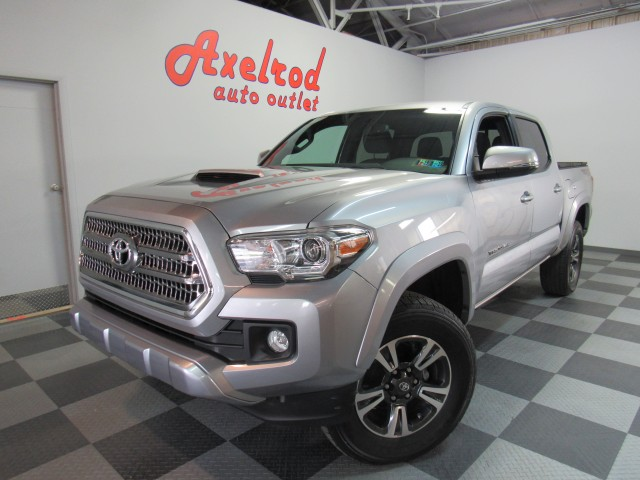 2016 Toyota Tacoma SR5 Double Cab TRD Sport V6 5AT 4WD