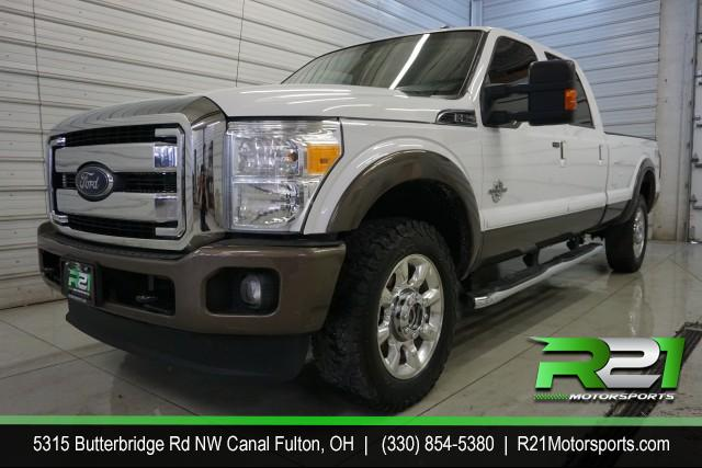 2012 Ford F-250 SD LARIAT CREW CAB 4WD 6.7L POWERSTROKE DIESEL - SOUTHERN-RUST FREE TRUCK for sale at R21 Motorsports
