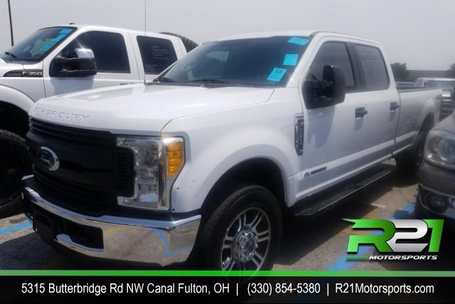 2017 FORD F-250 SD XLT W/LEATHER CREW CAB 4WD 6.7L POWERSTROKE DIESEL SOUTHERN RUST FREE TRUCK for sale at R21 Motorsports