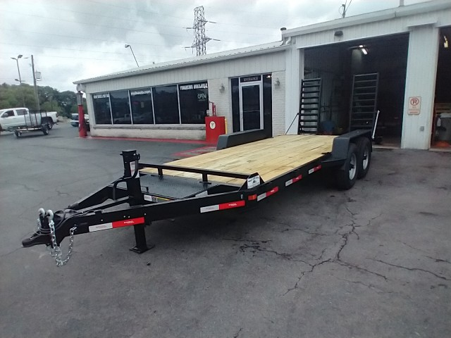 2021 RINGO 7 X 18 FLATBED  for sale at Mull's Auto Sales