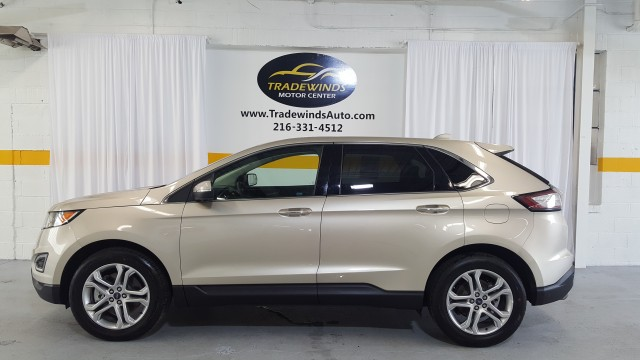 2018 FORD EDGE TITANIUM for sale at Tradewinds Motor Center