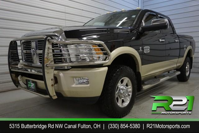 2012 RAM 3500 Laramie Crew Cab LWB 4WD DRW for sale at R21 Motorsports