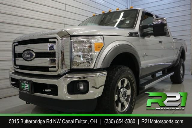 2013 Ford F-350 SD King Ranch Crew Cab Long Bed DRW 4WD for sale at R21 Motorsports