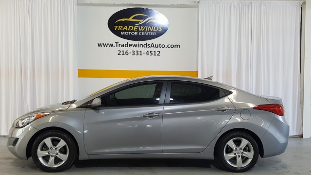 2013 Hyundai Elantra GLS A/T for sale at Tradewinds Motor Center