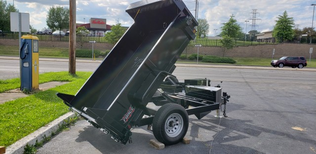2019 FORCE 5 X 8 DUMP  for sale at Mull's Auto Sales