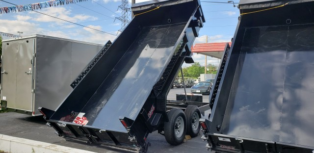 2020 FORCE 7 x 14 DUMP  for sale at Mull's Auto Sales