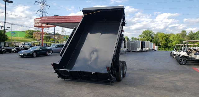 2020 FORCE 7 X 12 DUMP TRAILER  for sale at Mull's Auto Sales