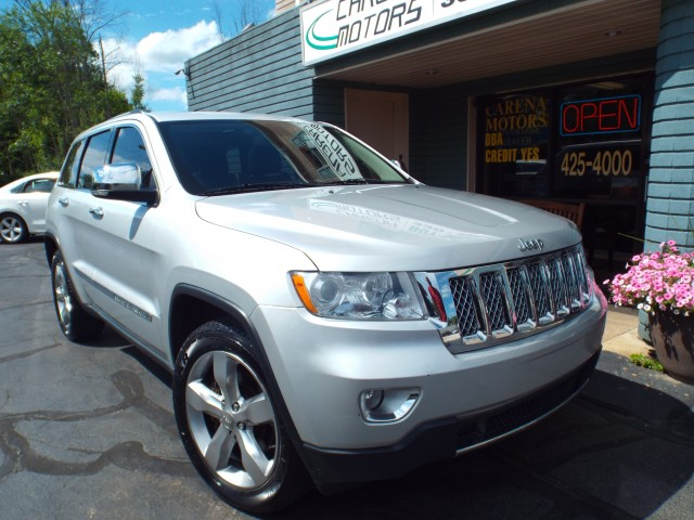 2012 JEEP GRAND CHEROKEE OVERLAND for sale in Twinsburg, Ohio