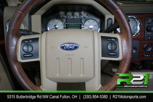 2008 FORD F-350 SD LARIAT CREW CAB 4WD for sale at R21 Motorsports