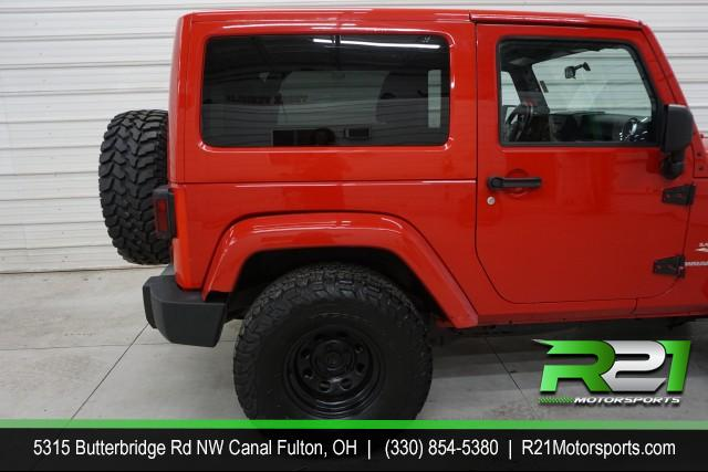 2012 JEEP WRANGLER SAHARA 4WD -- MUST GO!!  REDUCED FROM $21,995 for sale at R21 Motorsports