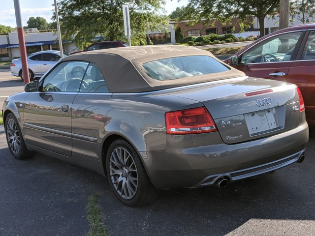 2009 Audi A4 2.0T Cabriolet quattro with Tiptronic for sale at Tri-State Fine Cars
