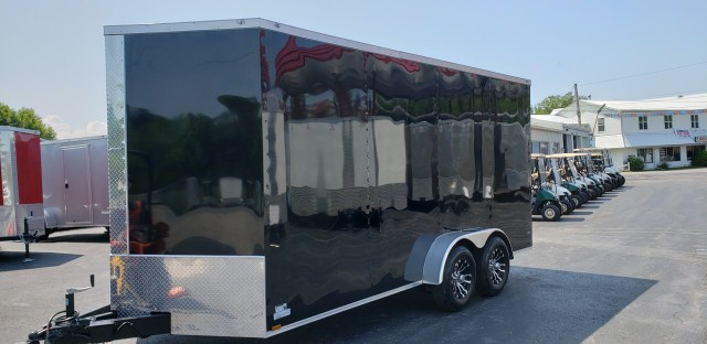 2020 anvil 7 X 16 ENCLOSED  for sale at Mull's Auto Sales