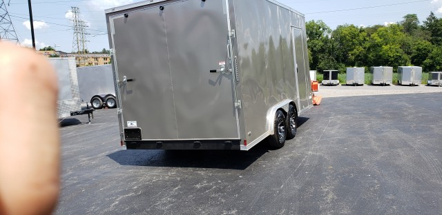 2020 anvil 8 x 16 enclosed  for sale at Mull's Auto Sales