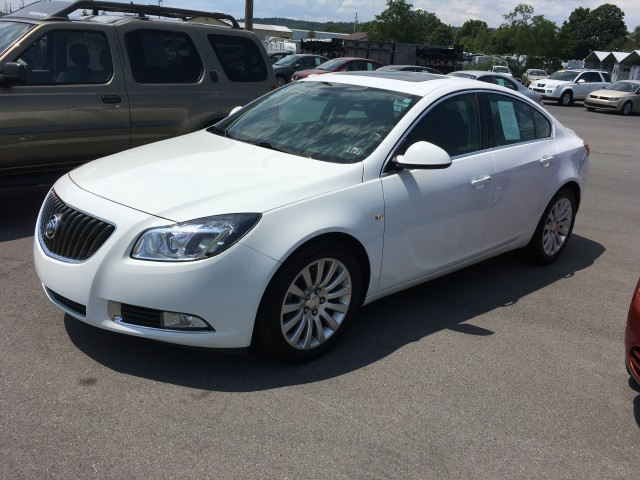 2011 Buick Regal CXL - 2XL for sale at Mull's Auto Sales